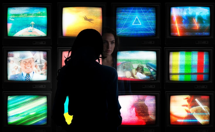"""GAL GADOT as Diana Prince in the action adventure """"WONDER WOMAN 1984."""""""