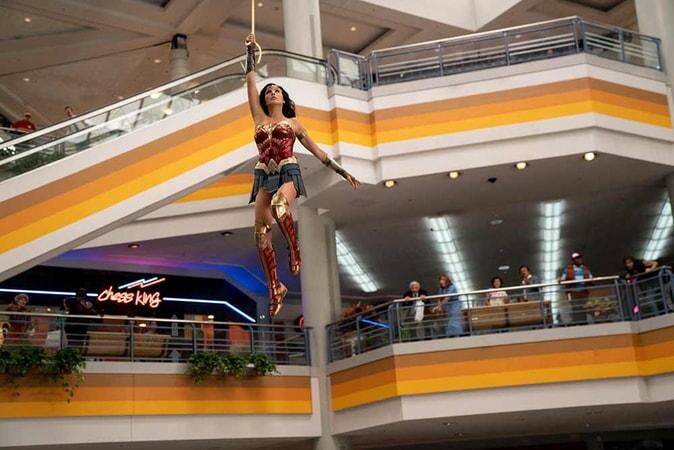 "GAL GADOT as Wonder Woman in Warner Bros. Pictures' action adventure ""WONDER WOMAN 1984."""