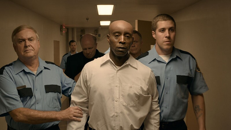 (Center) ROB MORGAN as Herbert Richardson in Warner Bros. Pictures' drama JUST MERCY.
