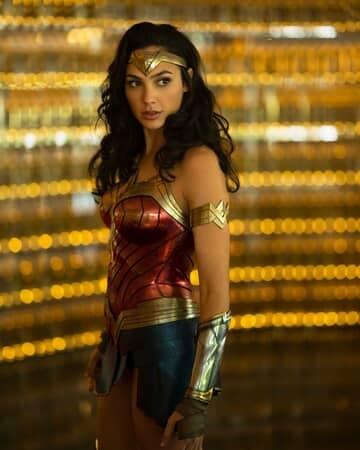 "GAL GADOT as Wonder Woman in the action adventure ""WONDER WOMAN 1984."""
