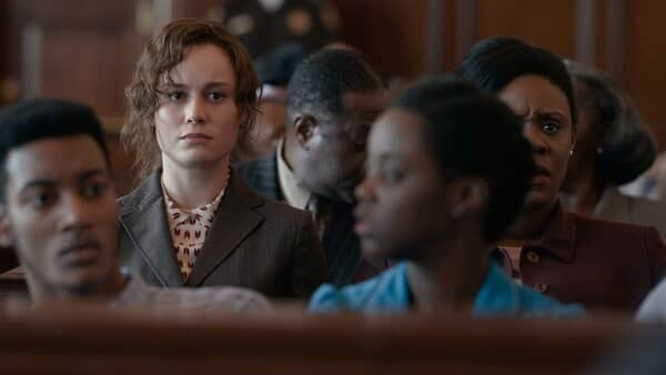 BRIE LARSON as Eva Ansley in Warner Bros. Pictures' drama JUST MERCY