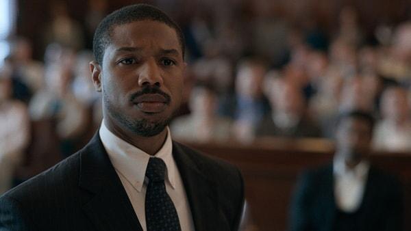MICHAEL B. JORDAN as Bryan Stevenson in Warner Bros. Pictures' drama JUST MERCY.